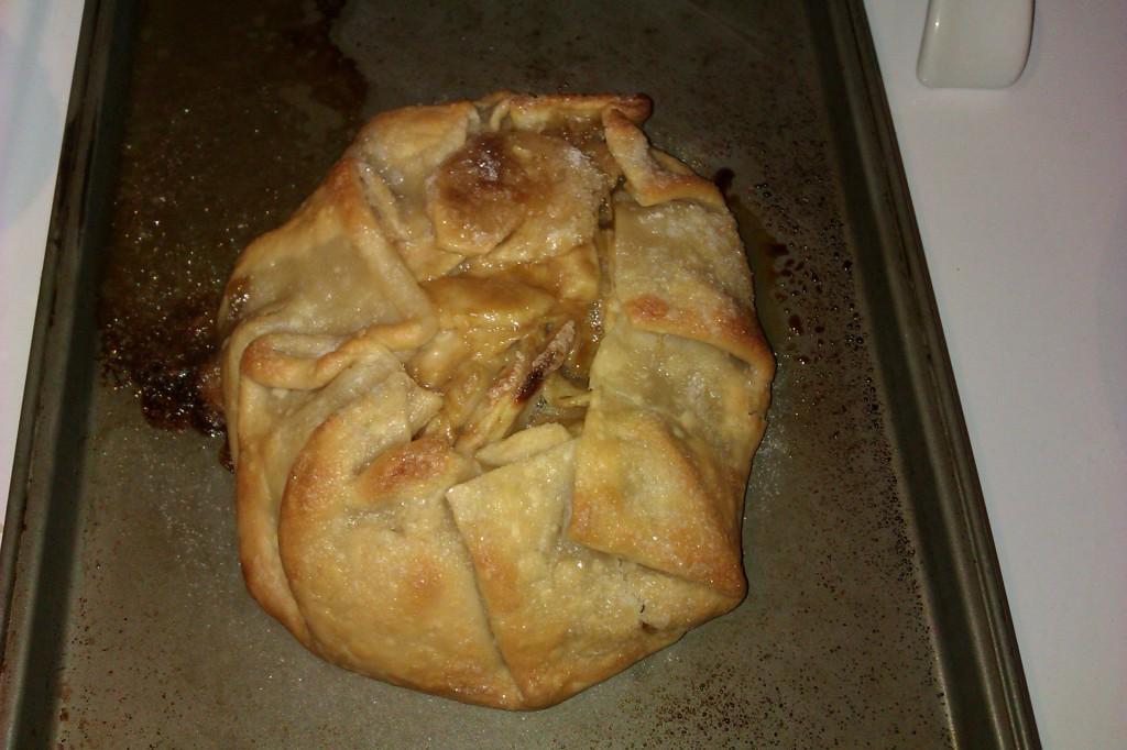 foldover apple pie