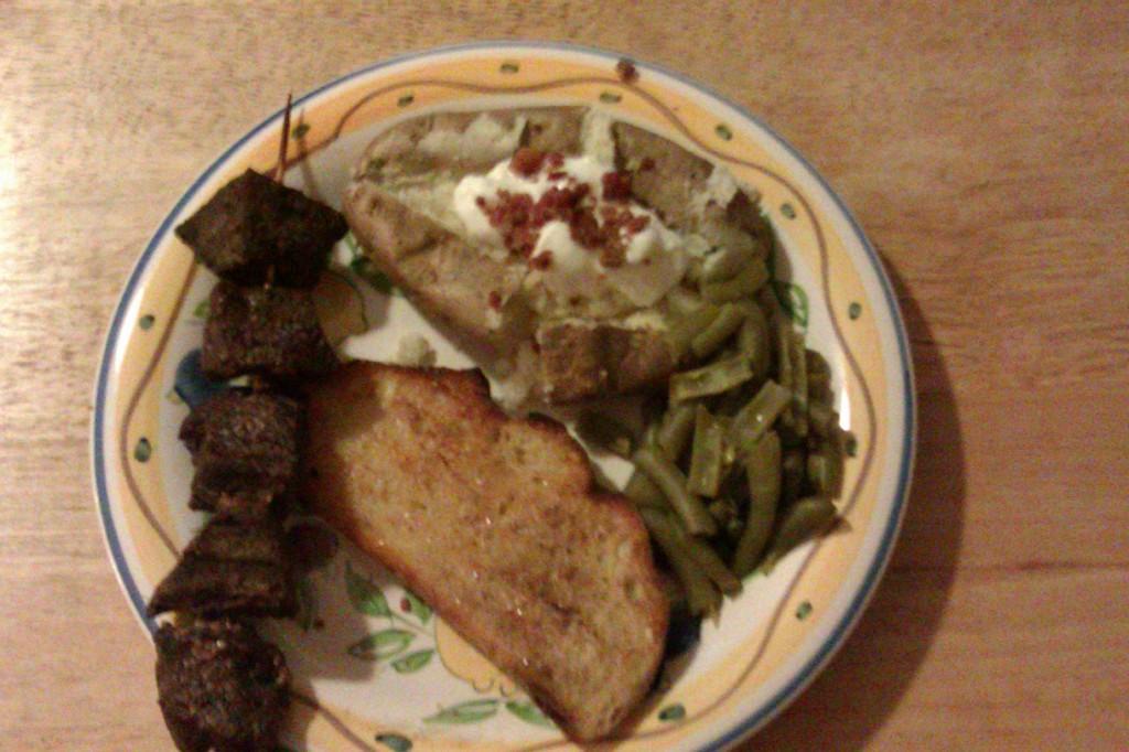 marinated beef skewers recipe