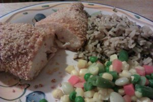 cornflake coated chicken