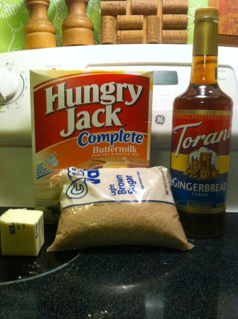 gingerbread pancakes ingredients