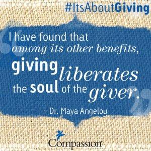 Why I Give