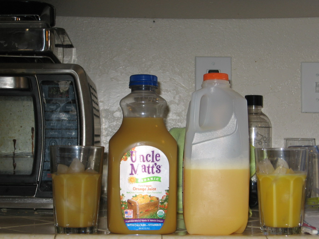 Uncle Matt's organic juice review