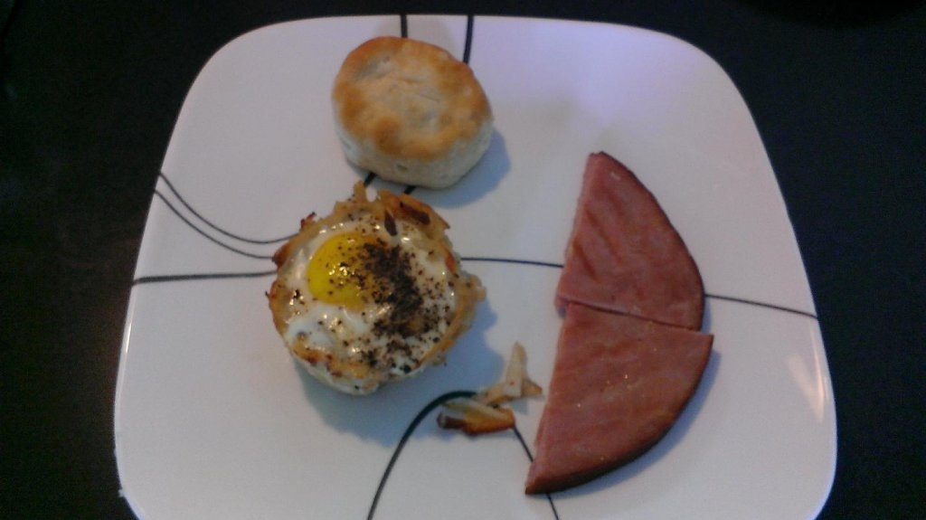 egg in a nest recipe