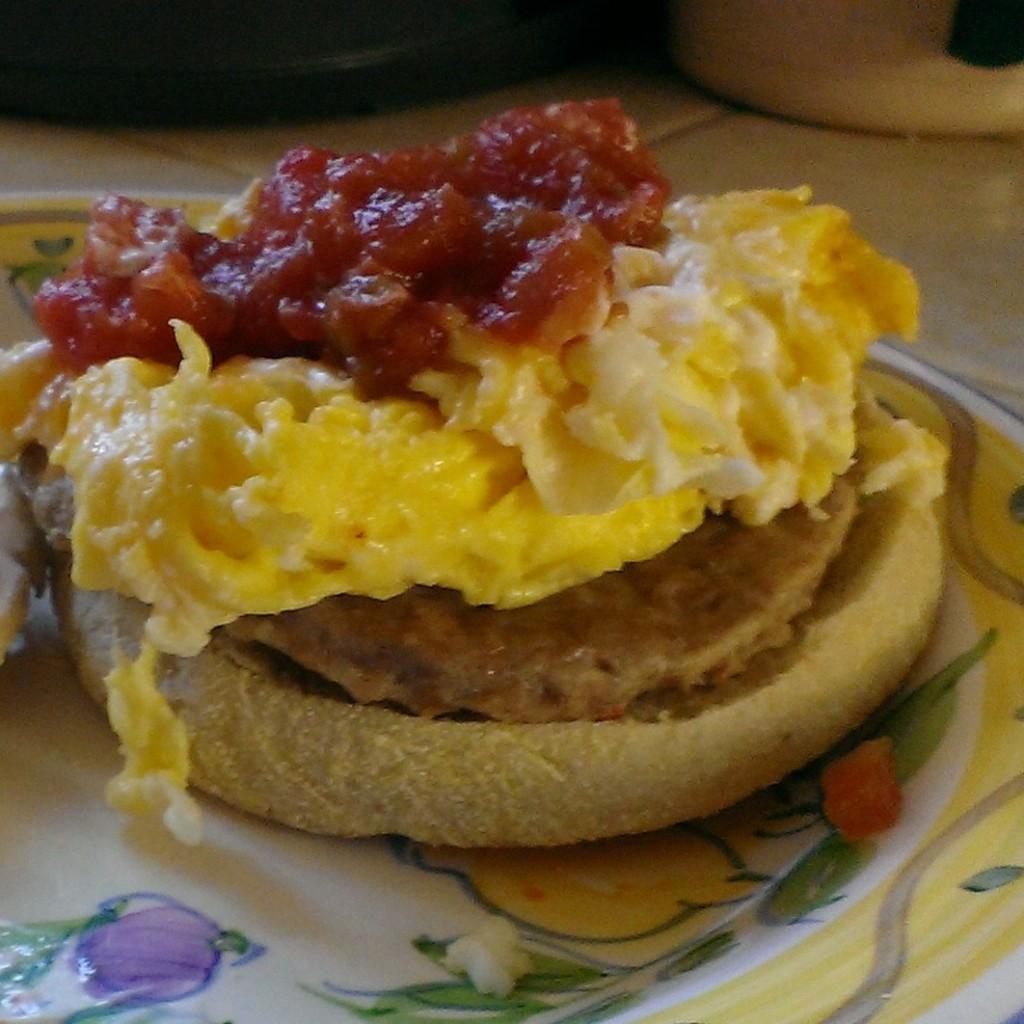 Spicy Tomato Egg Muffin Recipe