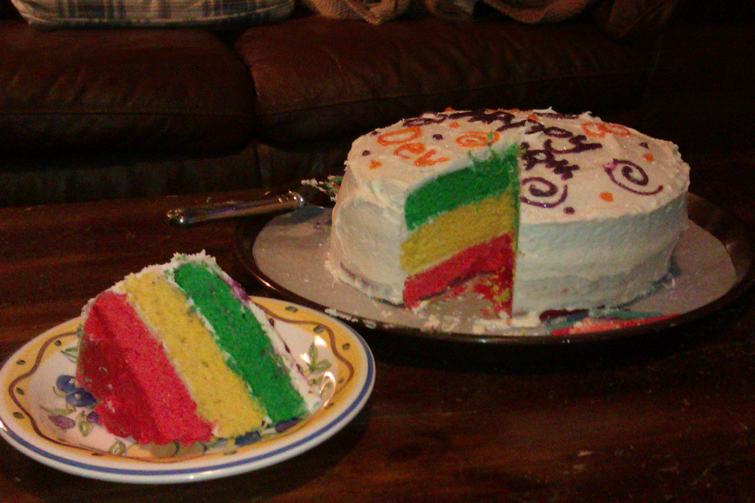 Birthday Cake Ideas And Recipe : Jamaican Flag Birthday Cake Recipe - Window on the World