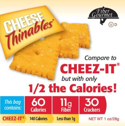 FiberGourmet Cheese Thinables