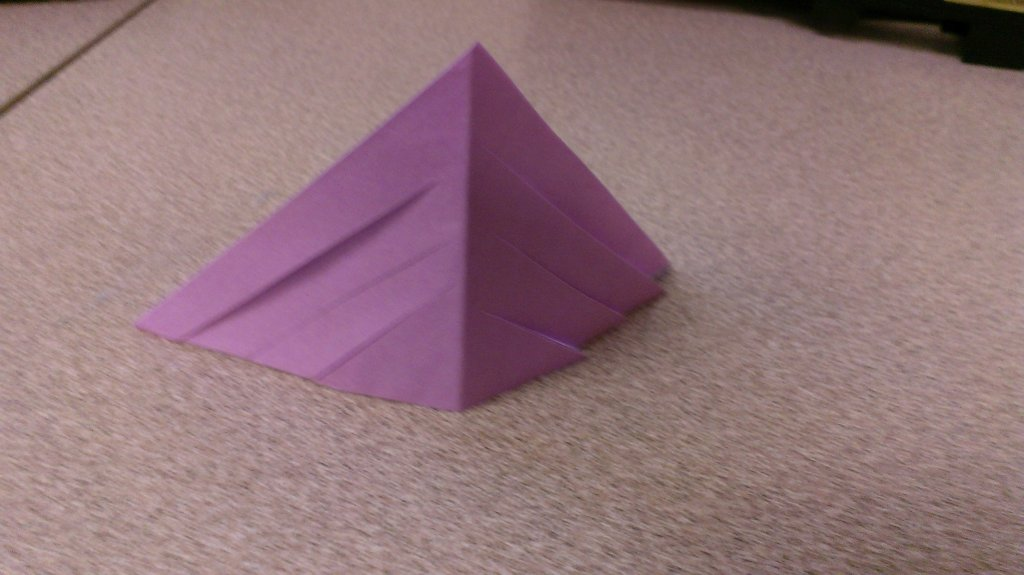 mini 3d paper snowflake