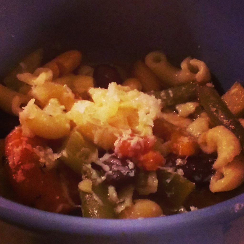Crockpot Vegetarian Minestrone Soup Recipe