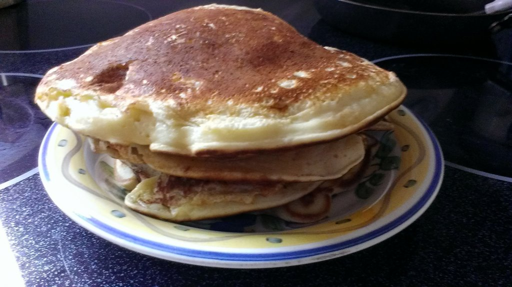ham and cheese stuffed pancakes recipe