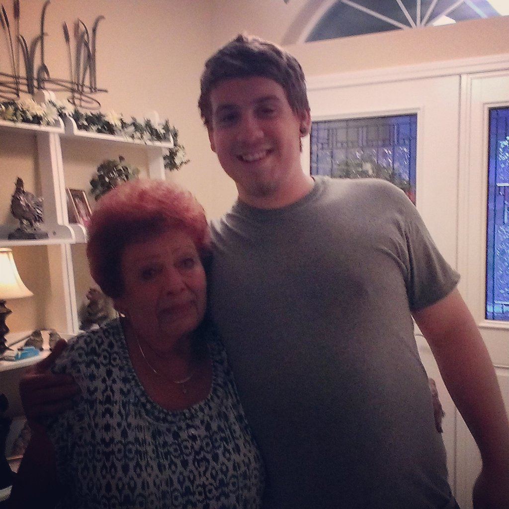Bud and Grandma
