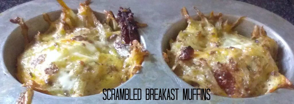 scrambled breakfast muffins recipe