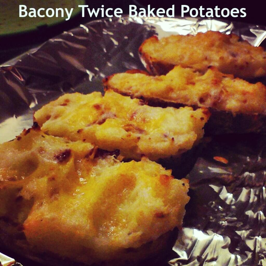 bacony twice baked potatoes