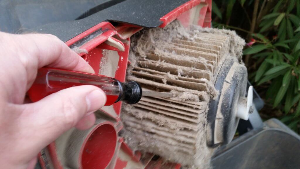 how to clean a shop vacuum filter