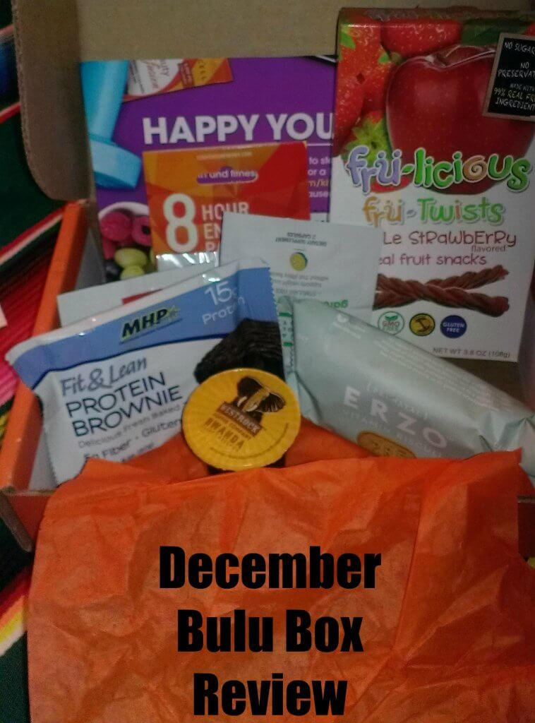 December Bulu Box Review