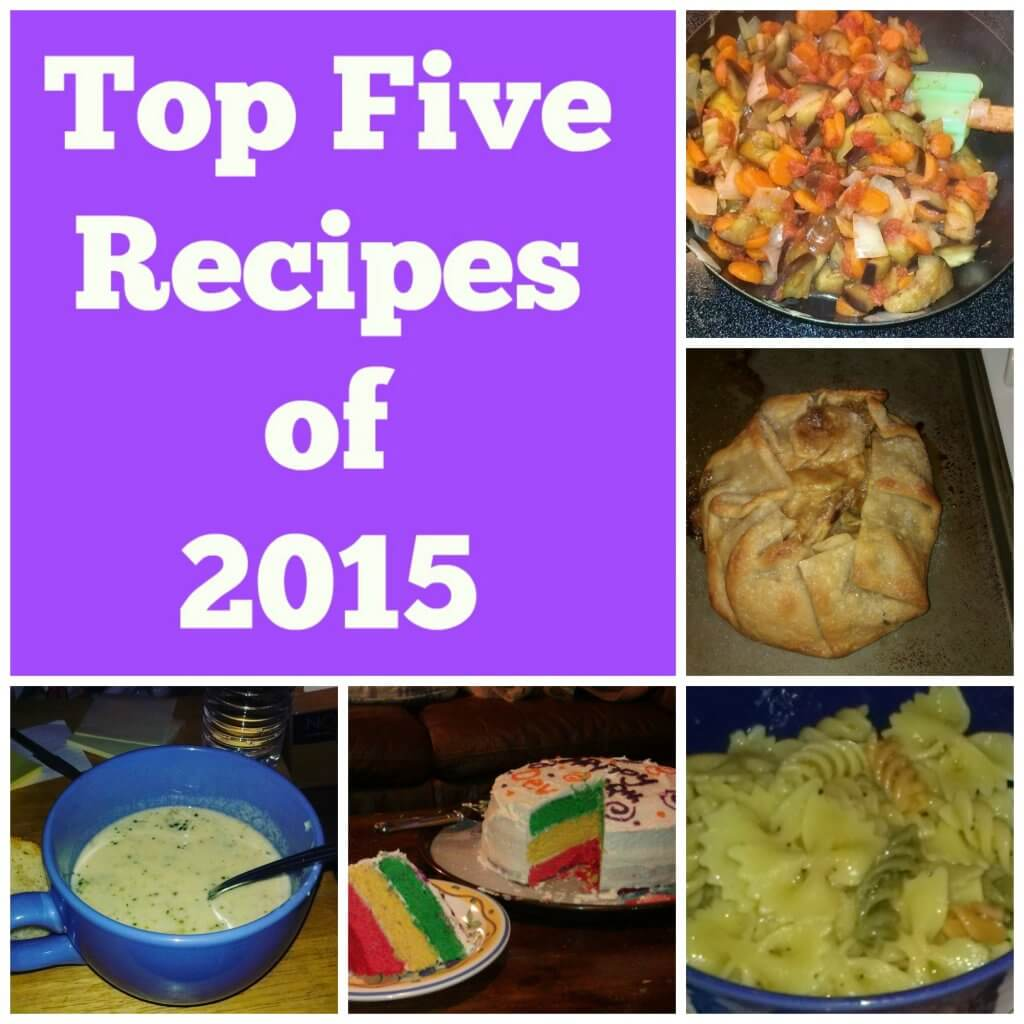 top five recipes of 2015