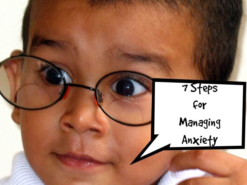 steps managing anxiety