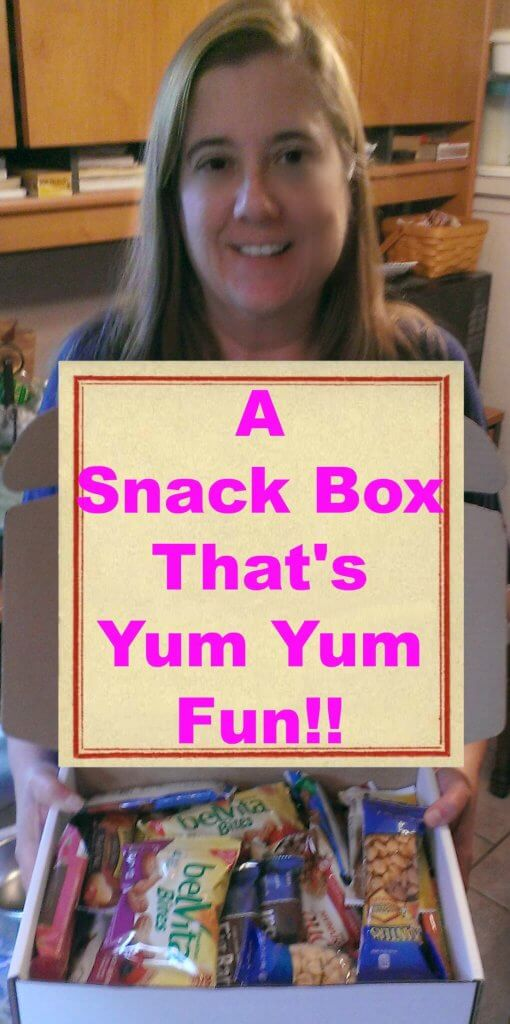 snack box yum yum fun
