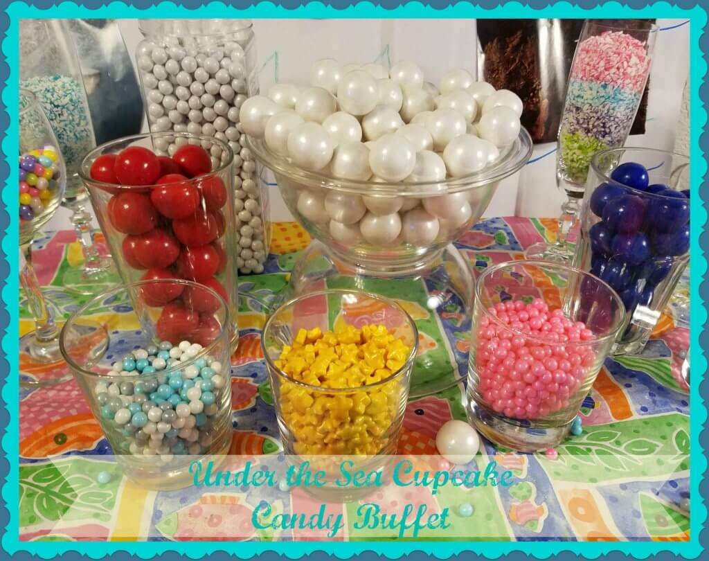 cupcake candy buffet