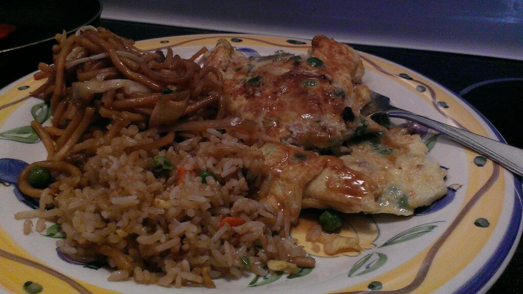 shrimp egg foo yung