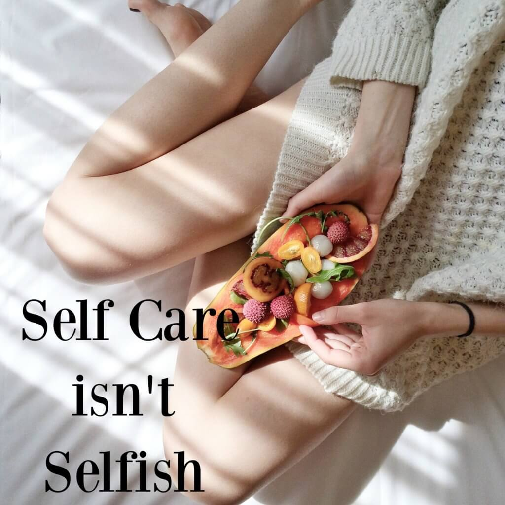 self care selfish